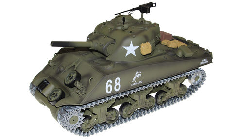 U.S.M4 A3 Sherman R&S 1:16, Metallkette 2,4GHz