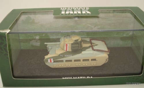Atlas Ultimate Tank Collection Mk II Matilda